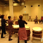 神戸和太鼓練習風景